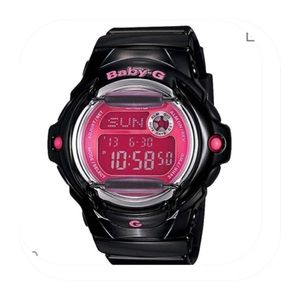 Casio Baby-G Black/Pink Digital Watch